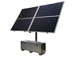 (RPAL48-180-1300) 24 or 48V Battery, 2.5A,  RemotePro™ 200W Continuous Solar Power System