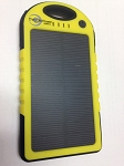 (TPB-5-SOLAR) Weatherproof 5000mAh Dual USB Output Solar Power Bank