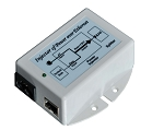 (TP-POE-24IR-CI) 24V 18W Rev Voltage POE Inserter,Current Ind
