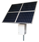 (RPST2448-100-280)  24V Battery, 48V PoE, RemotePro™ 50W Continuous Solar Power System