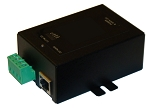 (TP-DCDC-1248-M) 9-36VDC In, 48VDC Out Metal 24W DCDC Conv/POE I