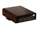 (TP-SW5G-24HP) 5 Port 802.3af/at POE Gigabit 12-36VDC Input Switch