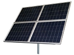 (TPSK12/24-320W) 320W 12V/24V Solar Panel Kit with panel, pole mount, controller and cable