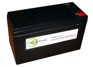 (TPBAT12-9) 12V 9AH AGM SLA Battery