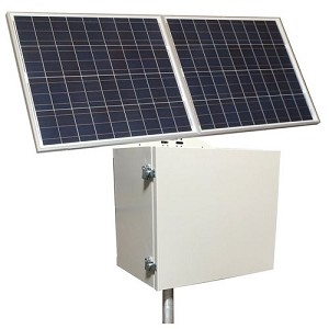 (RPSTL24M-100-160) 24V Battery, 20A, MPPT Controller, RemotePro® 40W Continuous Solar Power System