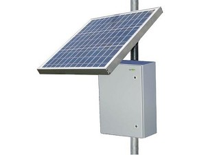 (RPST1224-100-80) 12V Battery,  24V PoE,   RemotePro™ 20W Continuous Solar Power System