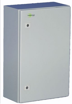 "(ENC-ST-23x14x12) Steel Outdoor Enclosure. 23 x14 x 12"" inside dimensions."