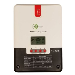 (TP-SC48-60-MPPT) 12/24/36/48V  In/out, 60A solar in MPPT Battery Charging Controller.