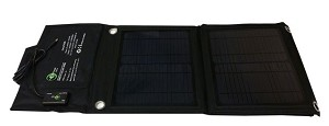 (TPS-5-28-PP) 28W Foldable Solar Panel, 15V and USB Output
