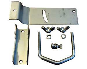 (EZNANO-Tilt) Tilt Bracket for UBNT Nano, +/- 35 deg, Stainless